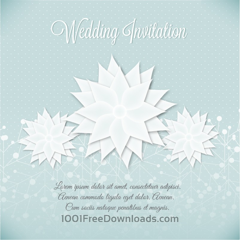 Free Wedding vector illustration