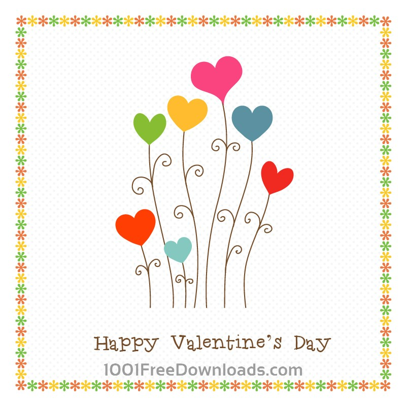 Free Vectors: Happy Valentine's Day | Backgrounds