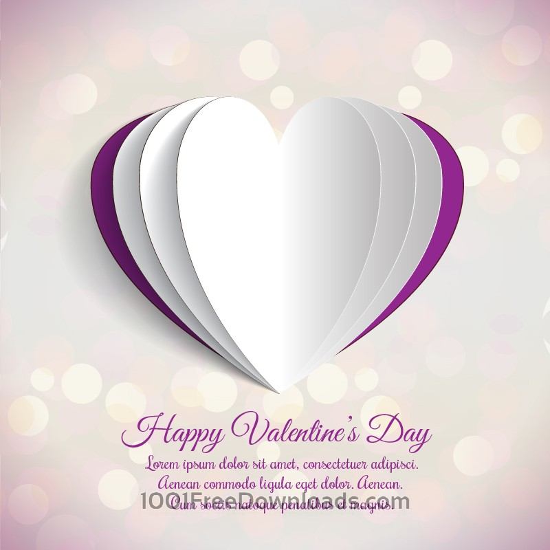 Free Vectors Happy Valentine S Day Vector Illustration Valentine