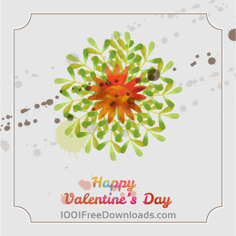 Free Vectors: Happy Valentine's Day vector illustration | Valentine