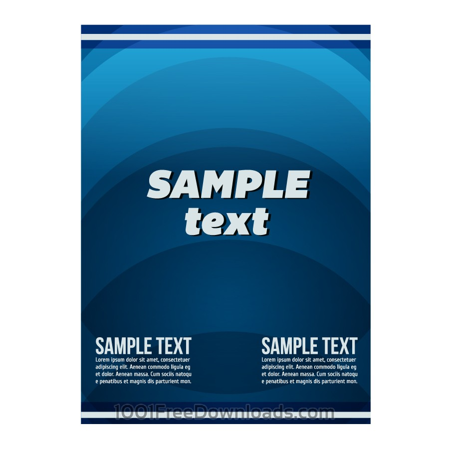 Free Vectors:  Vector poster | Abstract