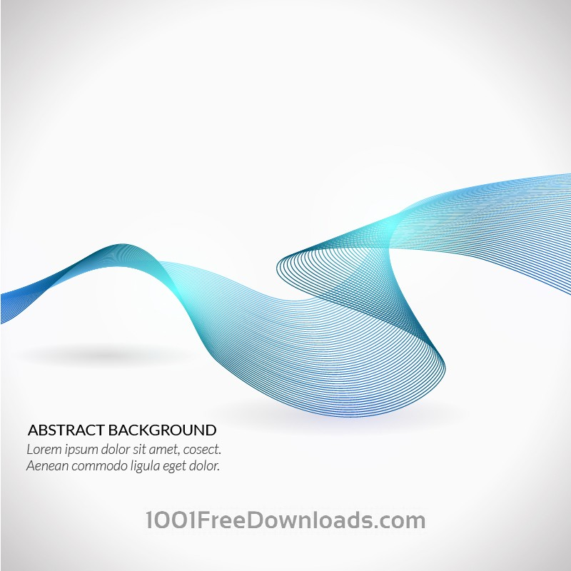 Free Vectors: Wave vector illustration | Abstract