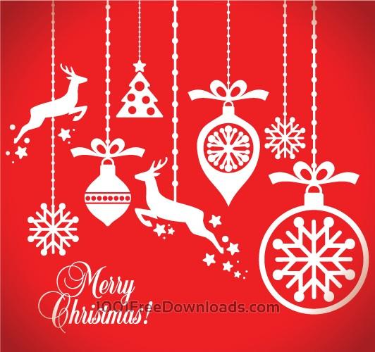 Free Vectors: New Year card | Holidays