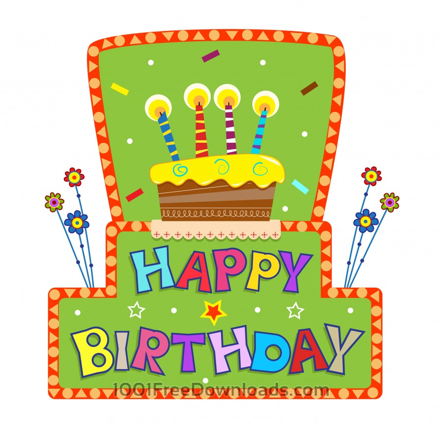 Free Vectors: Birthday Sign | Holidays