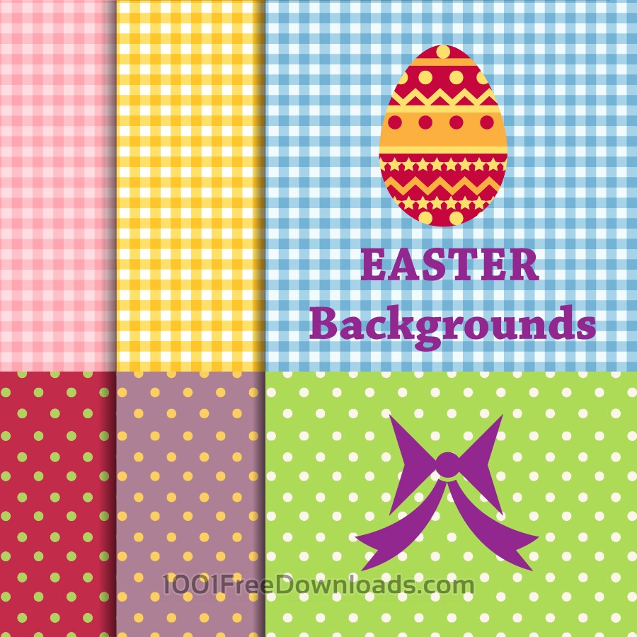 Free Vectors: Easter backgrounds | Abstract