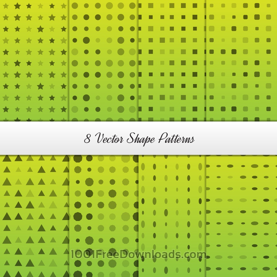 Free Vectors: Geometrical Patterns Set | Abstract