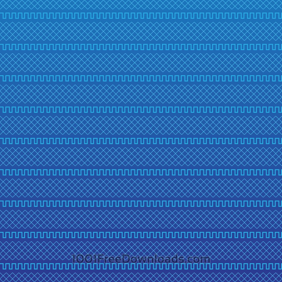 Free Vectors: Blue Geometric Pattern | Abstract