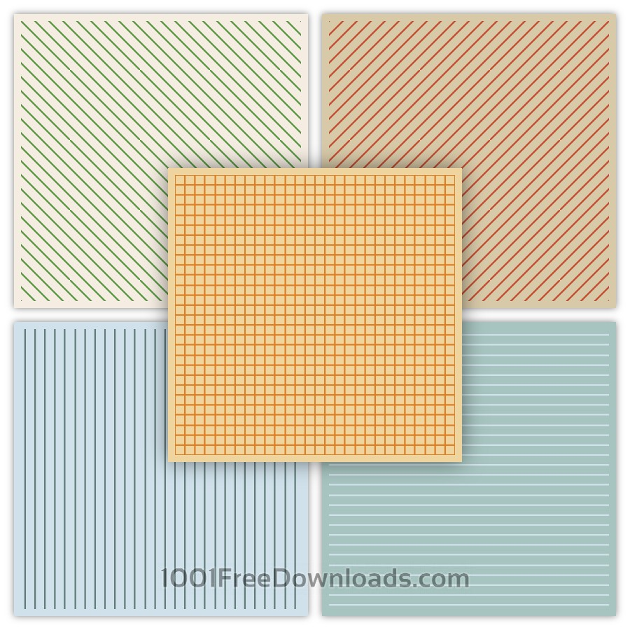 Free Geometric Patterns Set