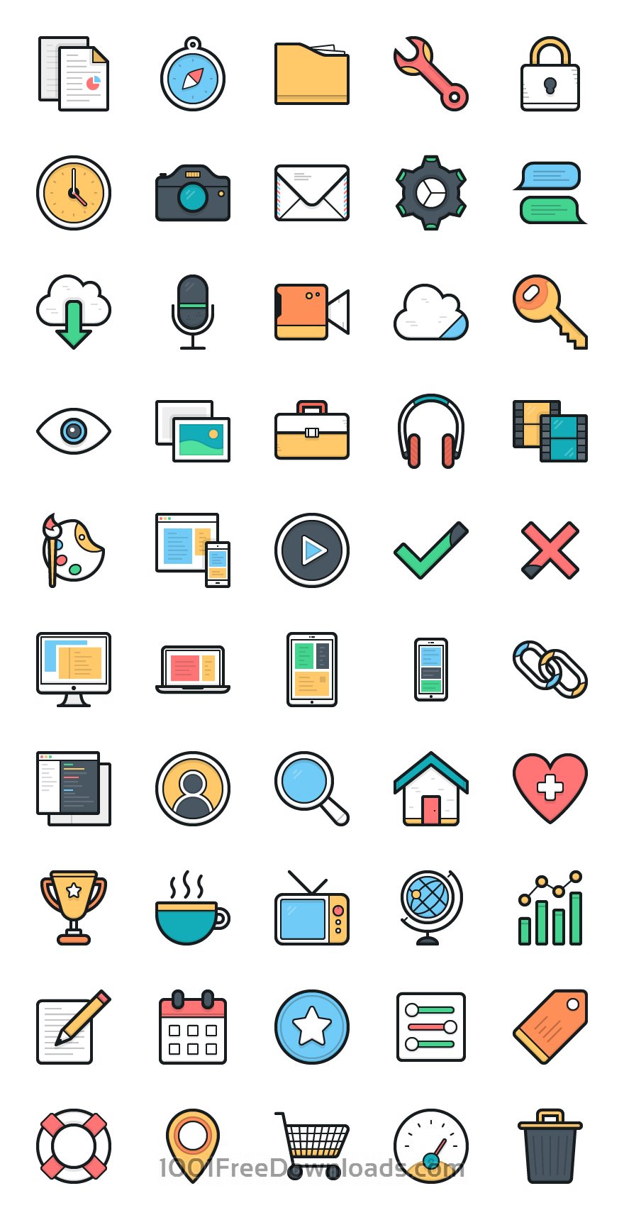 Free Vectors: Lulu Icons - Set 1