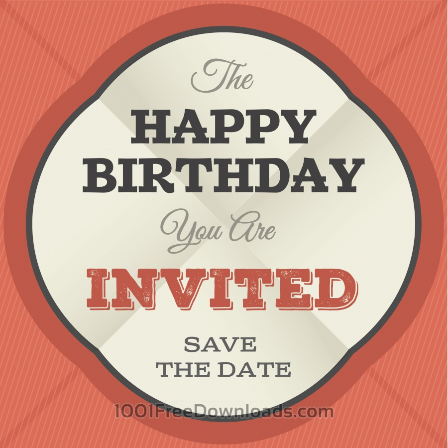 Free Vectors: Vector card with some text for wedding or birthday | Abstract
