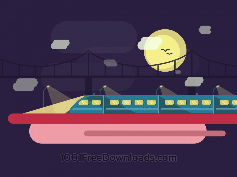 Free Vectors: Vector transport illustration for design | Objects