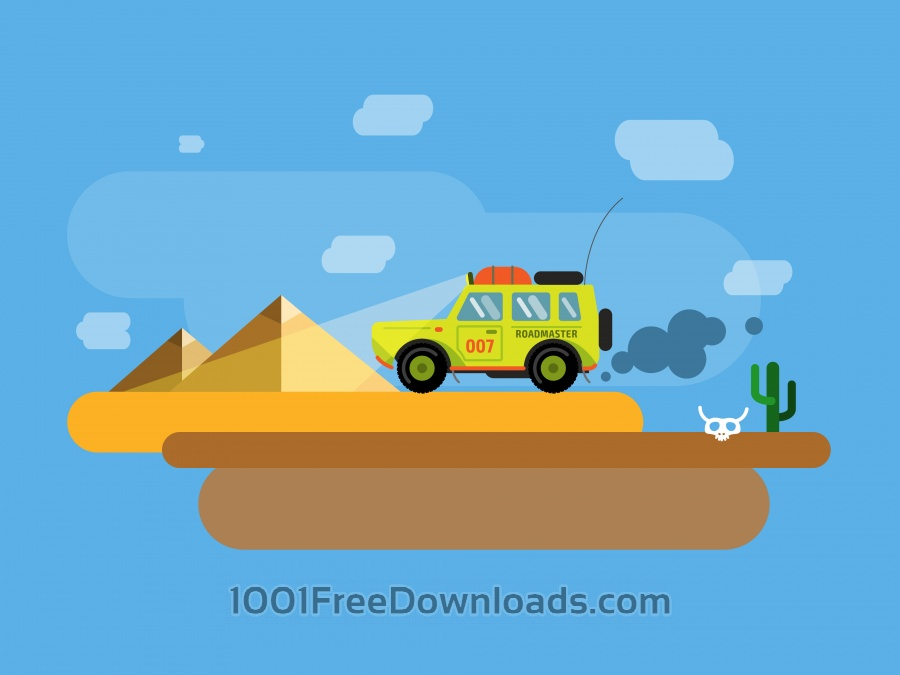 Free Vectors: Vector transport illustration for design | Nature