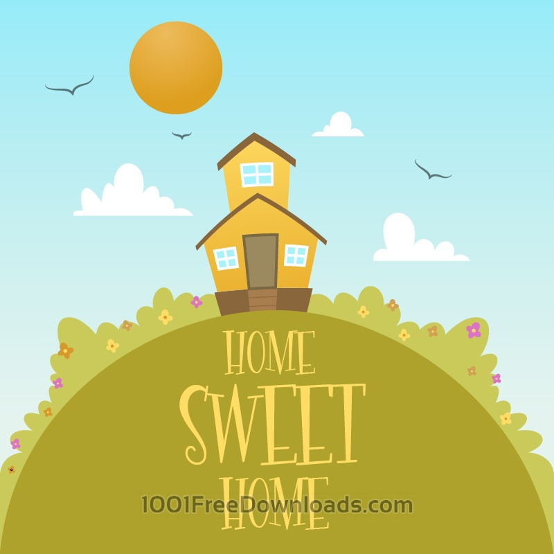 Free Vectors: Home Sweet Home | Backgrounds