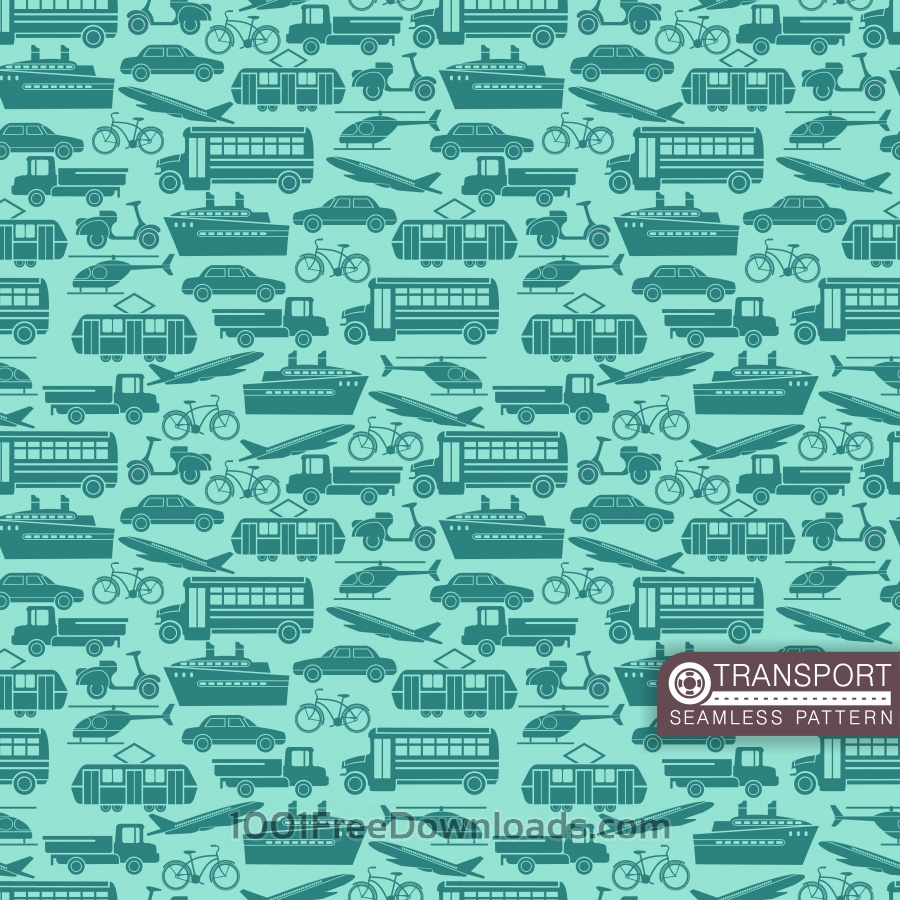 Free Transport seamless pattern