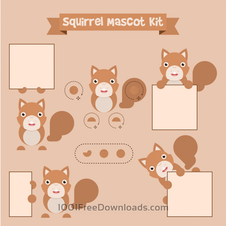 Free Squirrel mascot