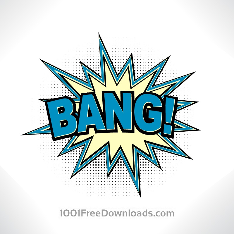 Free Vectors: Comic Book Exclamation | Abstract