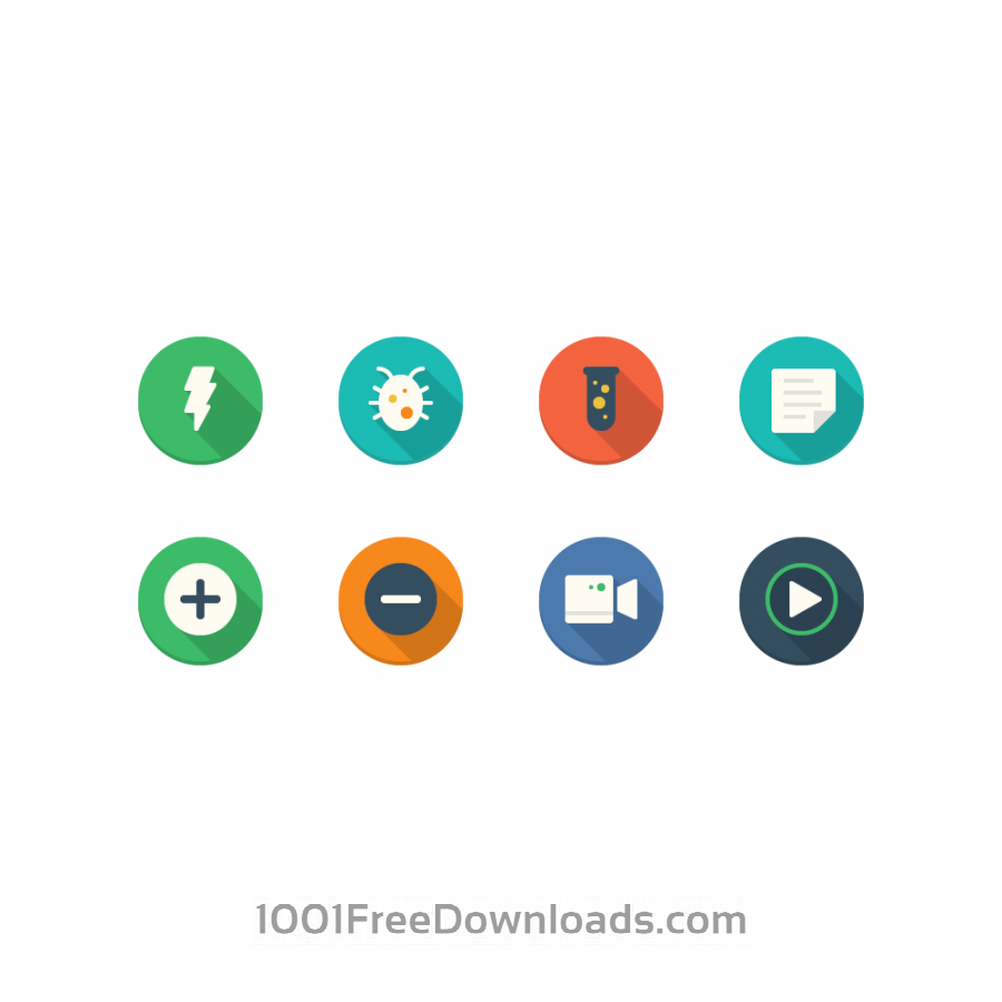 Free Filo Icons - Mini Set 6
