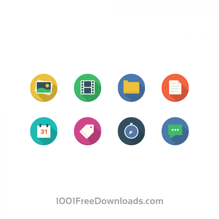 Free Filo Icons - Mini Set 1