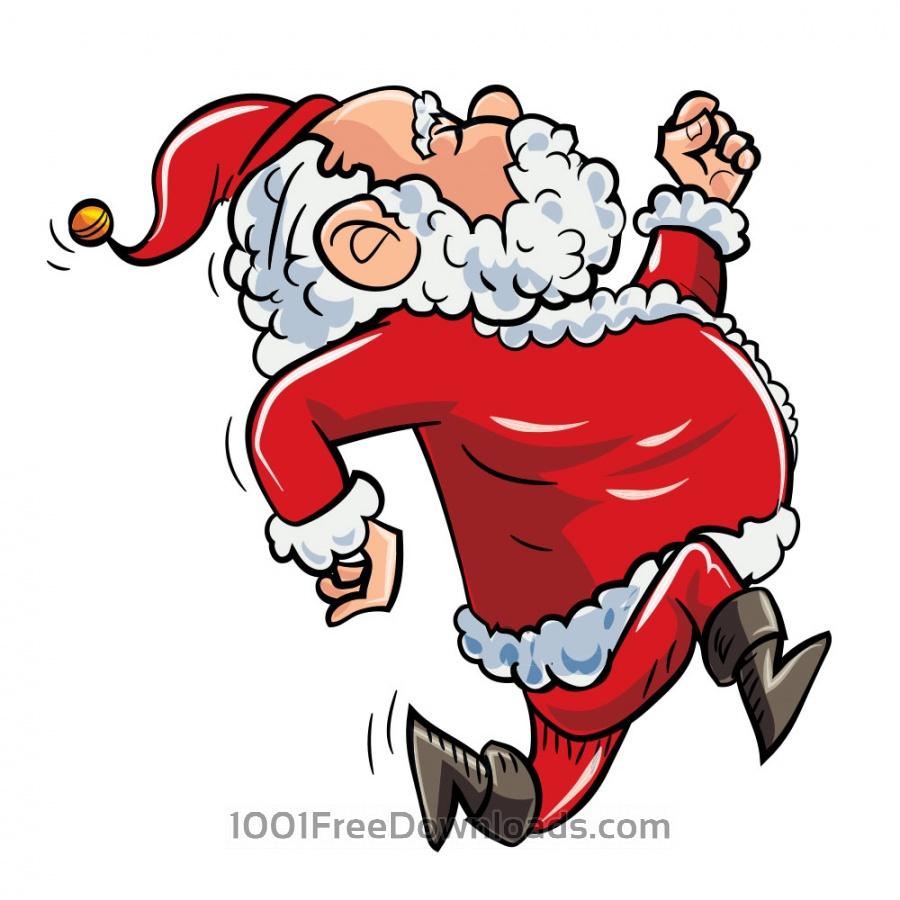 Free Running Santa