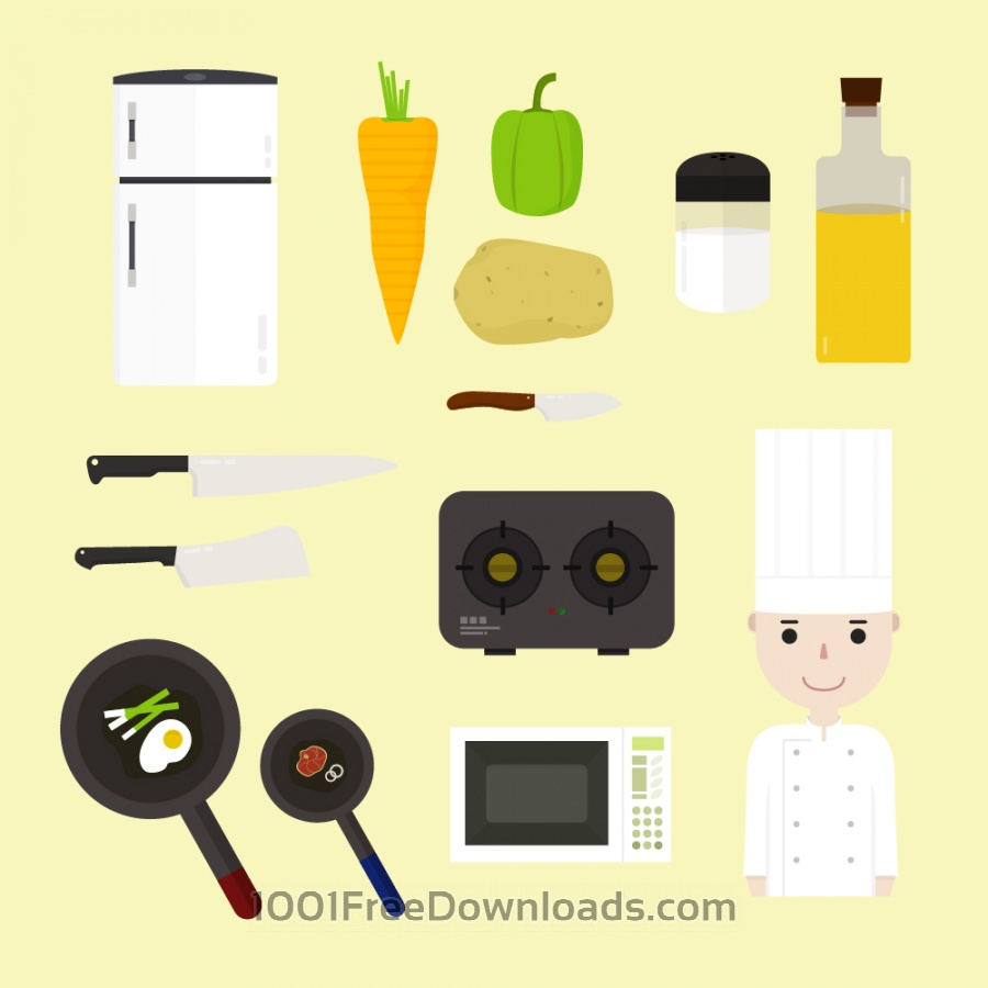 Free Vectors: Cooking icons  | Icons