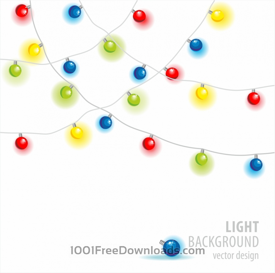 Free Light background. Vector.