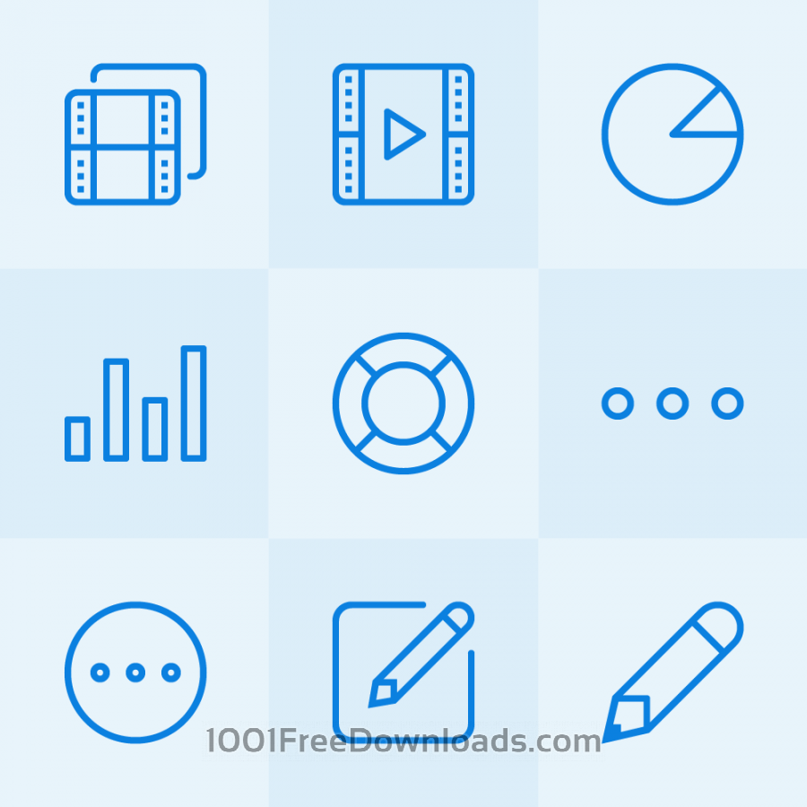 Free Vectors: Lynny Icons - Mini Set 3 | Icons