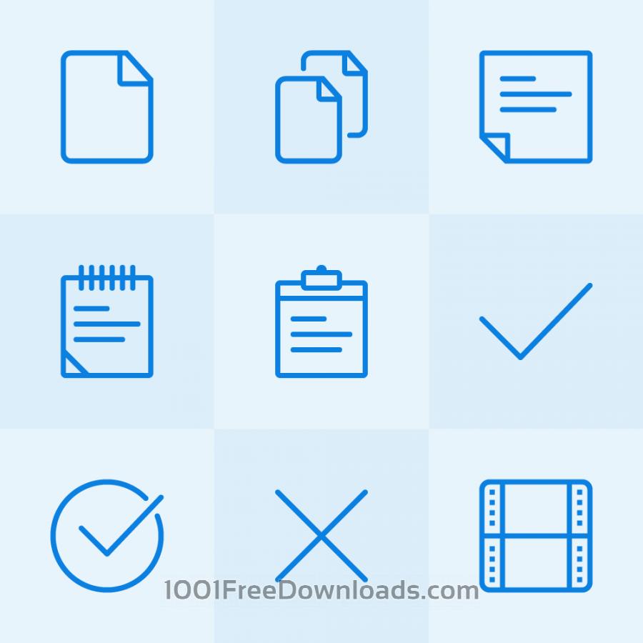 Free Vectors: Lynny Icons - Mini Set 2 | Icons