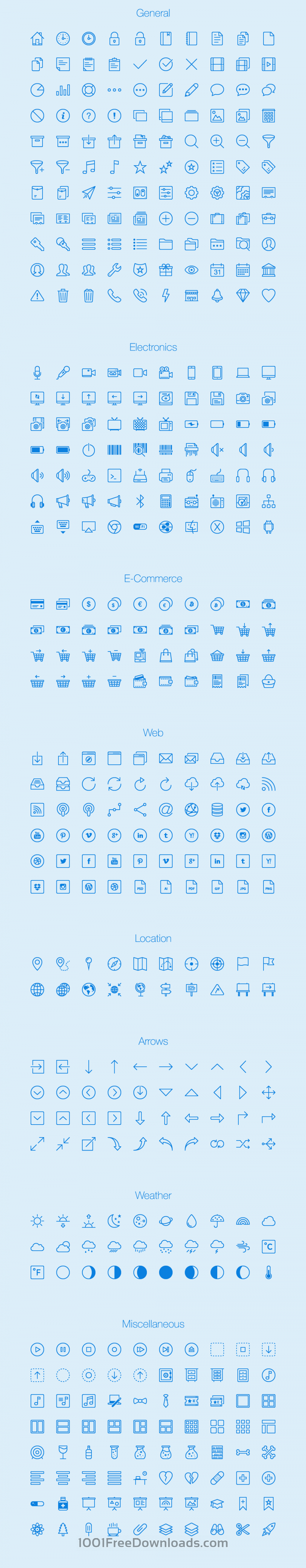 Free Vectors: Lynny Icons - Full | Icons