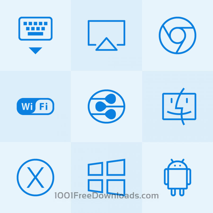 Free Vectors: Lynny Icons - Mini Set 20 | Icons