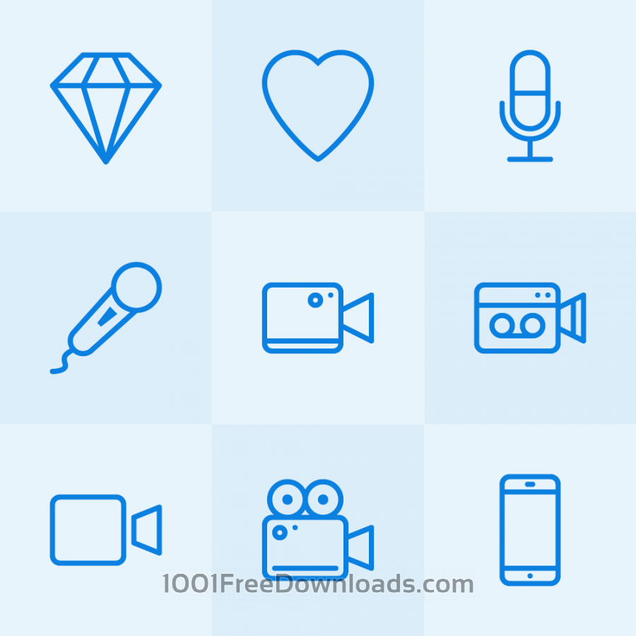 Free Vectors: Lynny Icons - Mini Set 13 | Icons