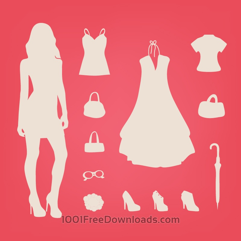 Free Vectors: Fashion Elements | Design