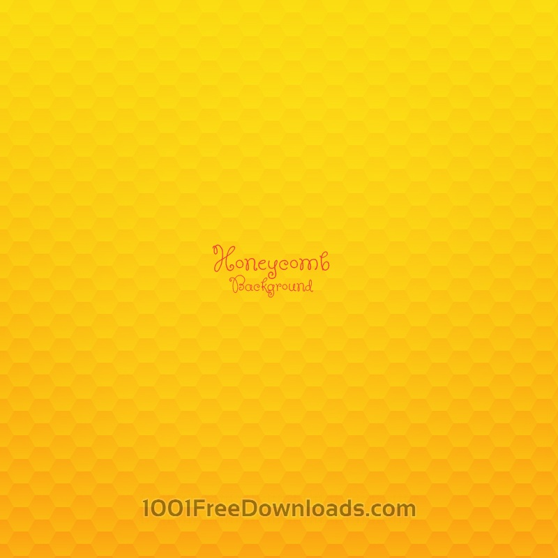 Free Honeycomb Background