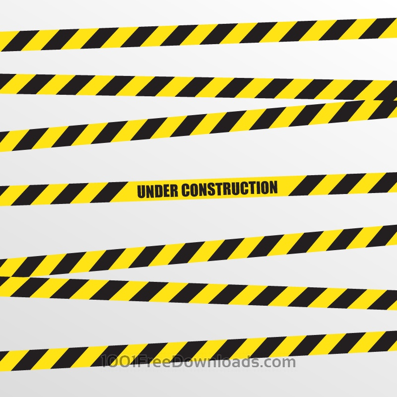 Free Vectors: Under Construction Vector Background | Abstract