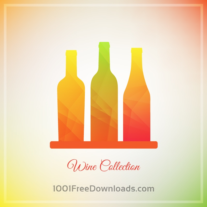 Free Vector Wine Bottles