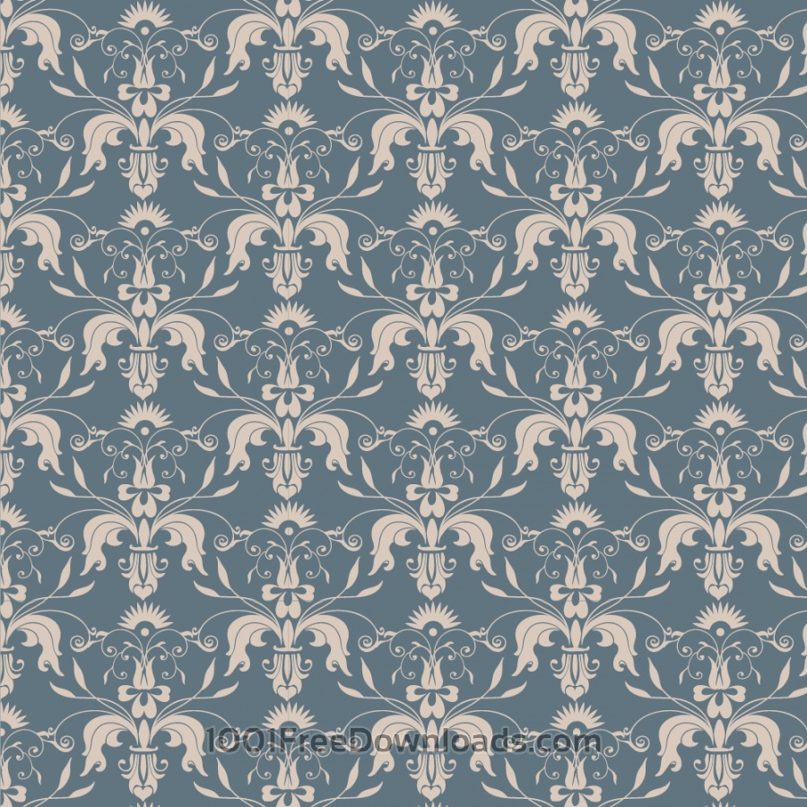 Free Vectors: Damask seamless pattern  | Patterns