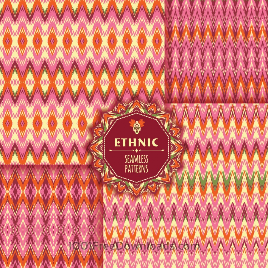 Free Ethnic seamless pattern
