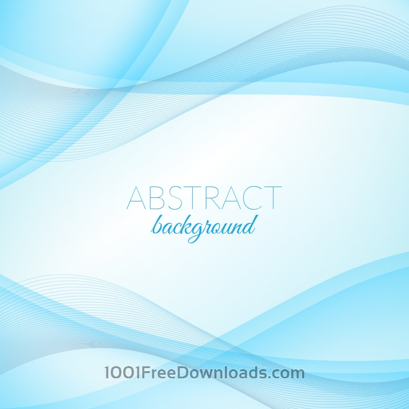 Free Vectors: Abstract blue wave background | Abstract