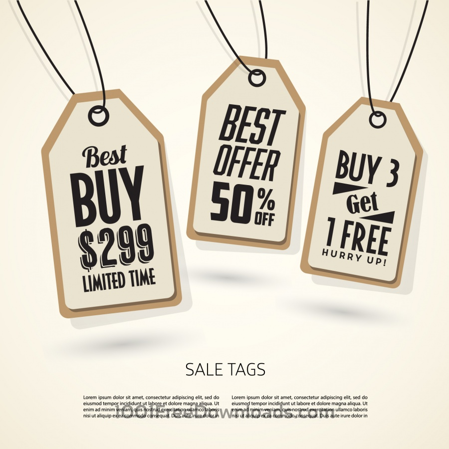 Free Sale Tags Design