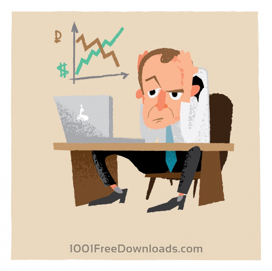 Free Vectors: Business man characters. Vector illustration | Cartoons