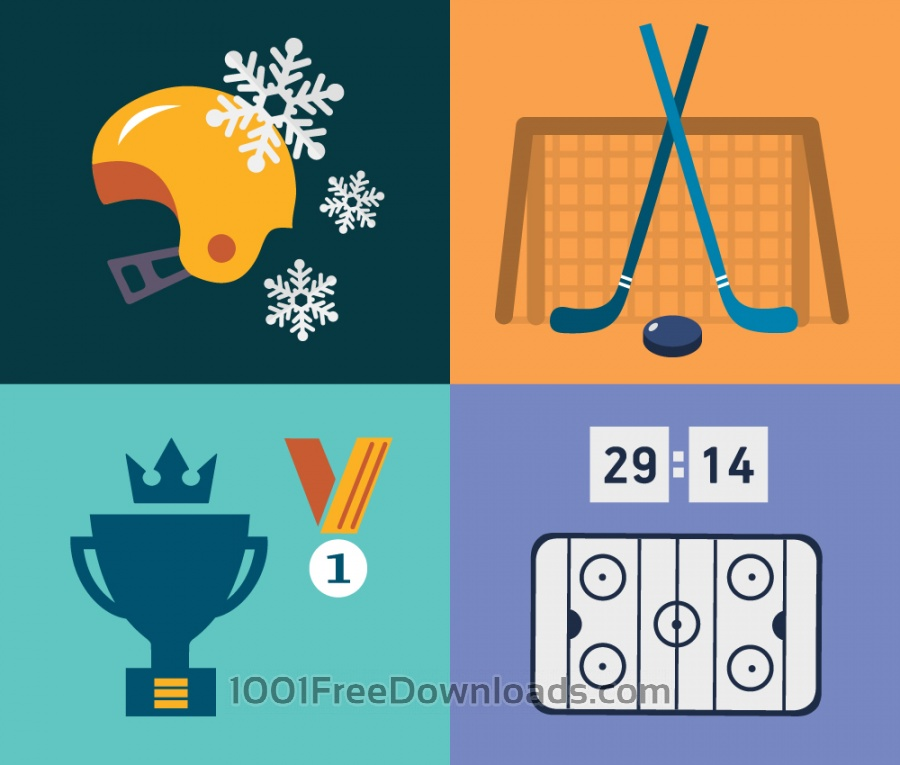 Free Vectors: Sport objects for design. Vector illustrations. | Objects