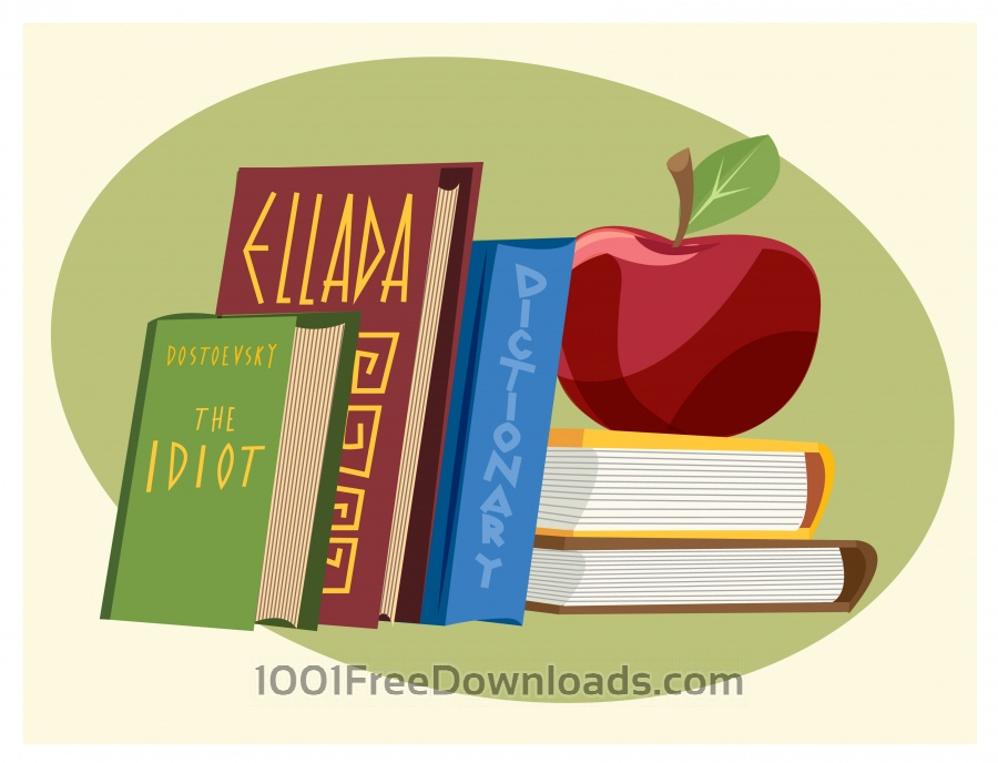 Free Vectors: Education objects vector illustration for design | Objects