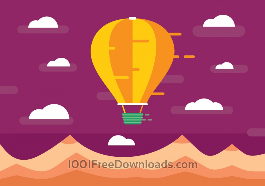 Free Vectors: Transport objects vector illustration for design | Backgrounds