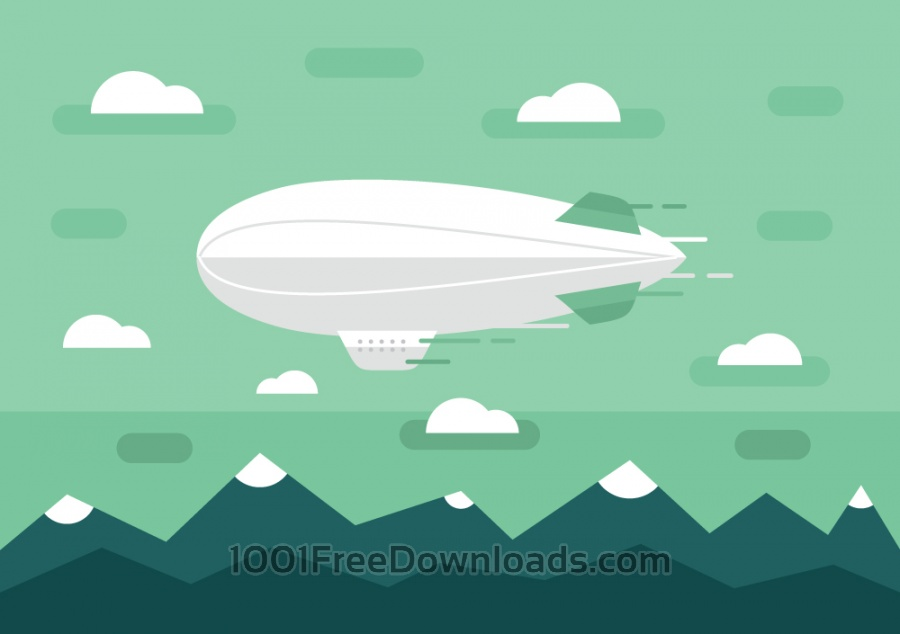 Free Transport objects vector illustration for design