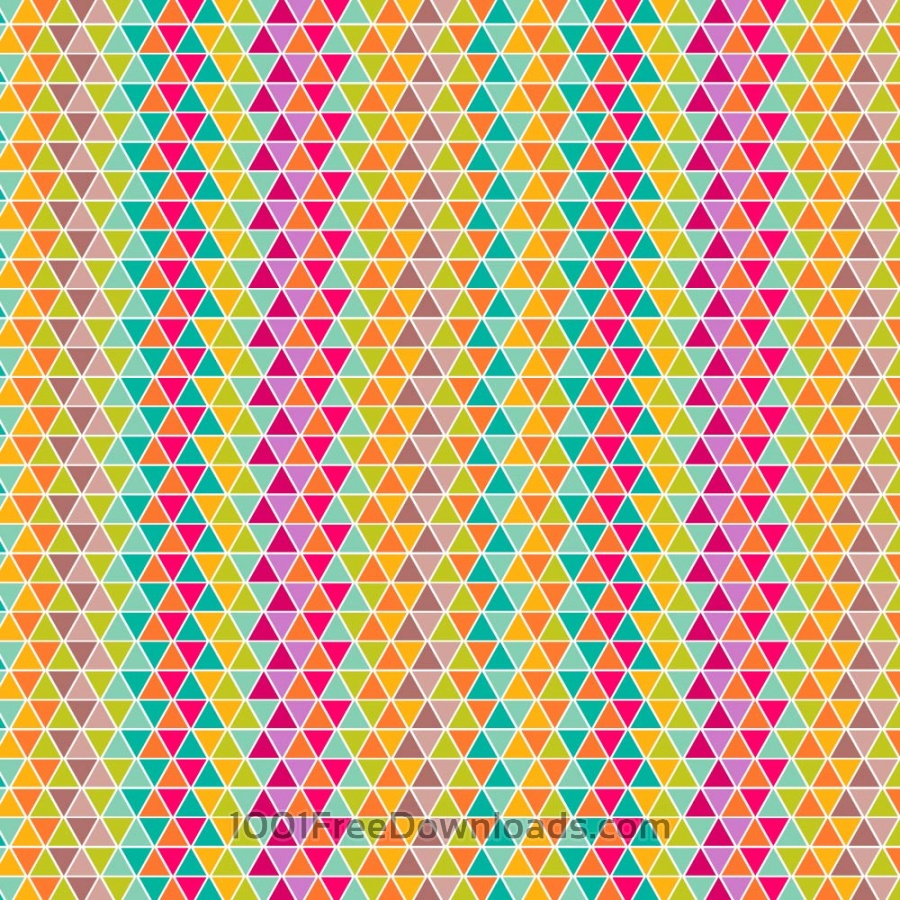 Free colorful triangular pattern design