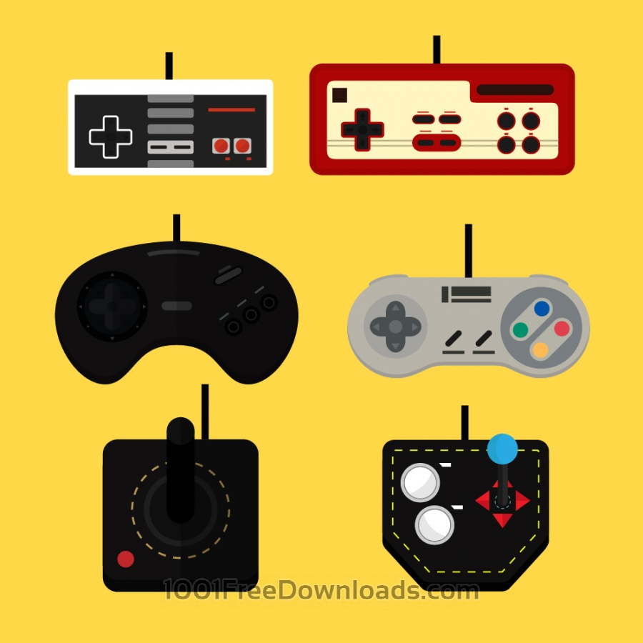 Free Old Game Controllers