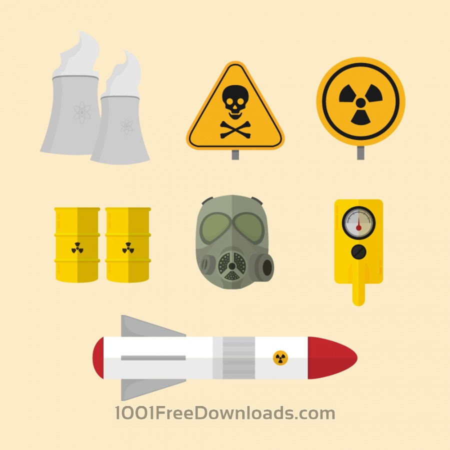 Free Vectors: Nuclear Elements | Icons
