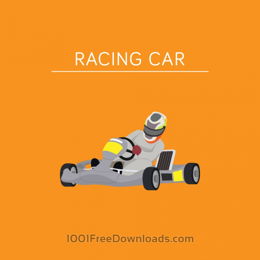 Free Vectors: Racing Car | Objects