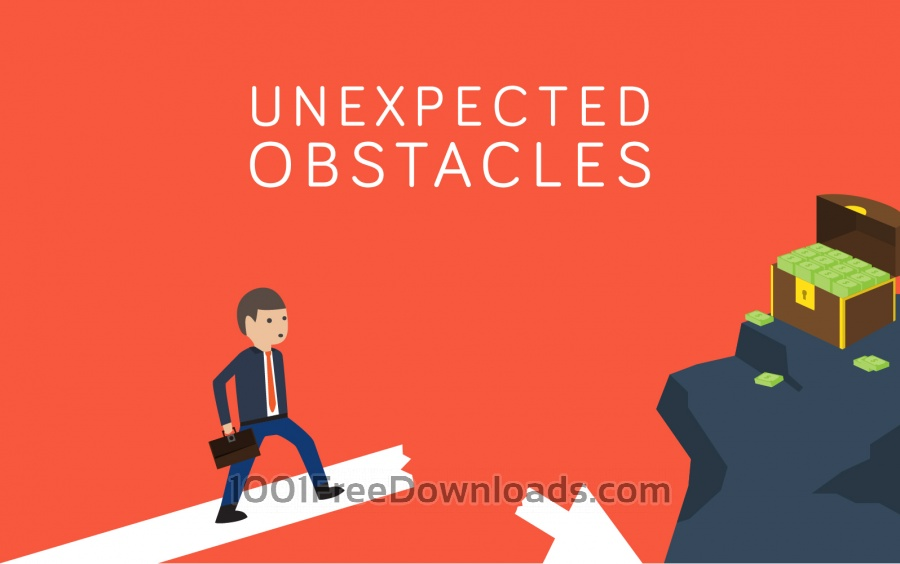 Free Unexpected Obstacles