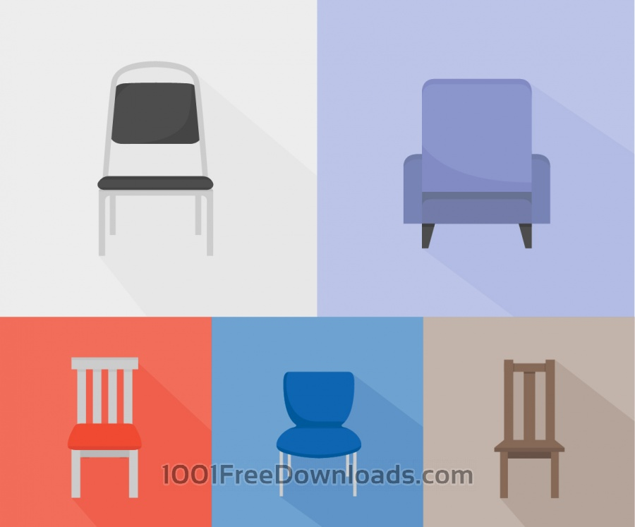 Free Chairs of different kinds