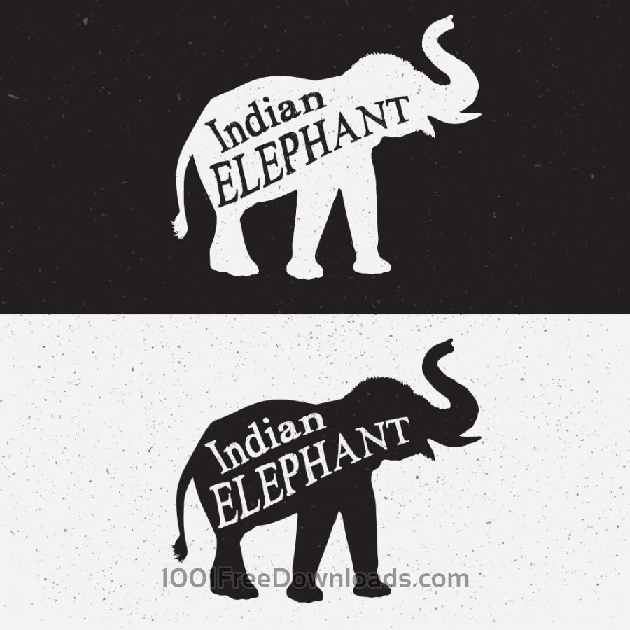 Free Elephant Silhouette